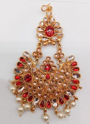 Latest Kundan Pearls Pasa Collection For Hairs