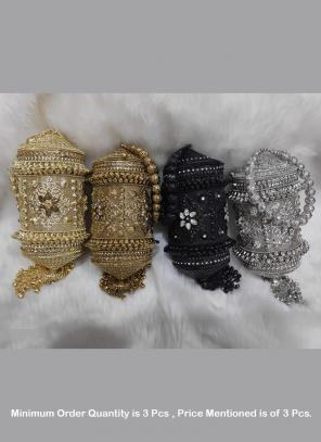 Designer Classic party wear hand clutch ( Price For 3 Pcs)