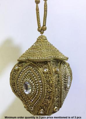 Latest Indian Ethnic Design Metal Clutch Bag