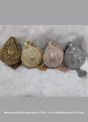Wedding special clutches designs wholesale rate ( Price For 3 Pcs)