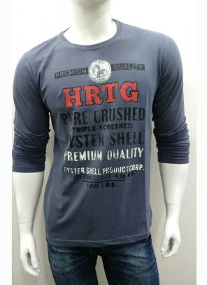 Casual Wear New Look Grey Cotton Plain T-Shirts