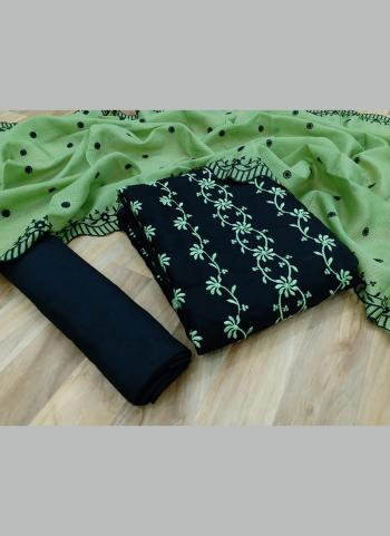 Casual Wear Light Green Multi Work Kota Chex Salwar Suit