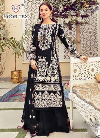 Festival Wear Black Embroidery Work Heavy Cotton Pakistani Suit
