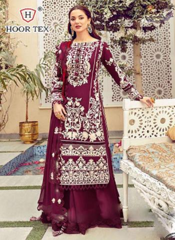 Festival Wear Purple Embroidery Work Heavy Cotton Pakistani Suit