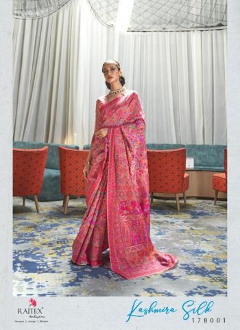 Festival Wear Pink Weaving Silk Saree