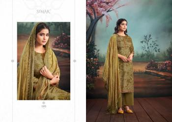 Festival Wear Olive Green Digital Printed Work Pure Muslin Palazzo Suit
