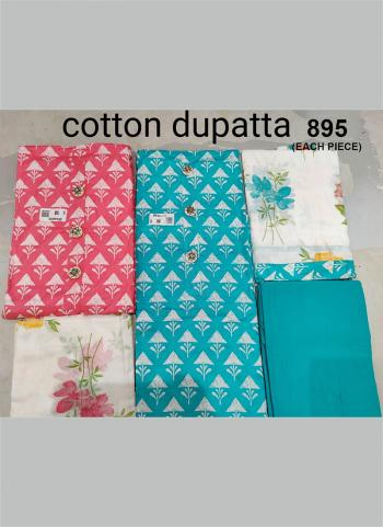 Wedding Wear Sky Blue  Embroidery Work Cotton Salwar Suit