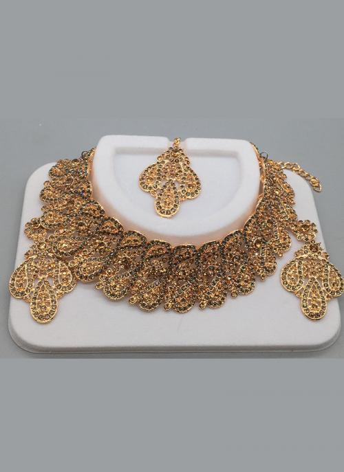 Latest Designer Indian Wedding Bridal Neckalce Set