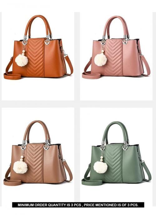 Designer Ladies Fancy Handbag Collection