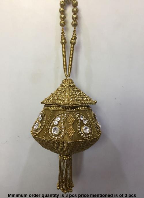 Designer indian ethnic metal clutches