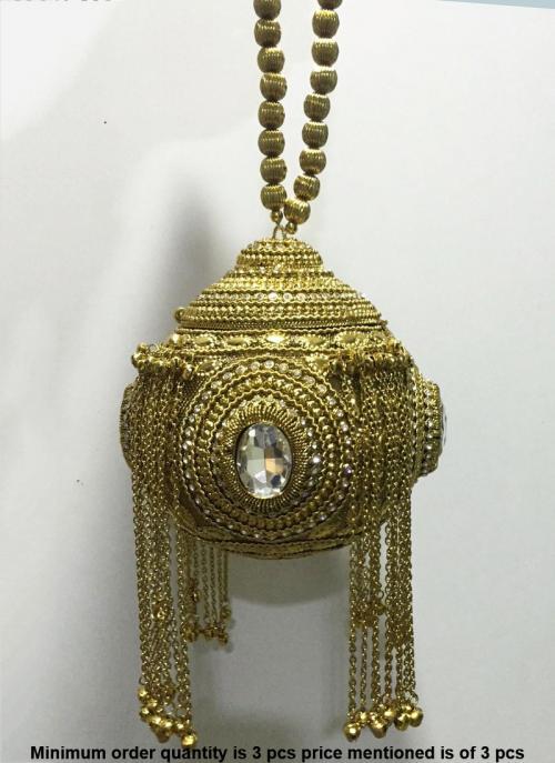 Handmade Vintage Metal Clutch And Sling Bag